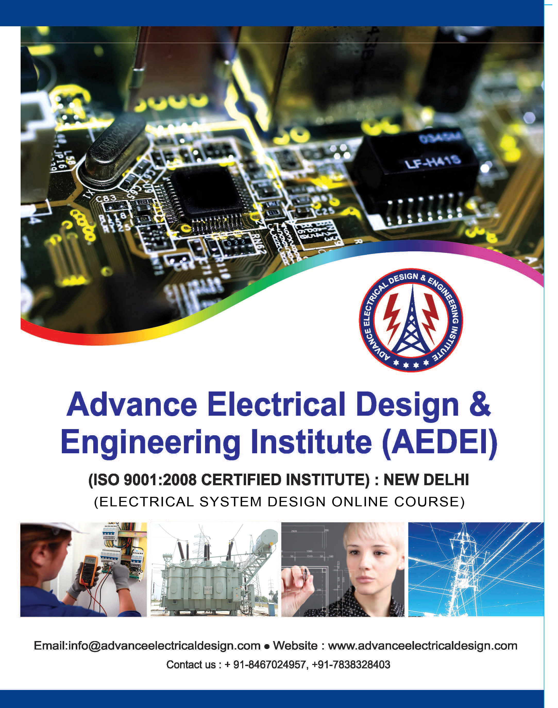 Online Electrical Design Engineering Course in delhi,Institute offer online Electrical Design course